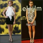 Olivia Cooke In Emilio Pucci & Marc Jacobs  At  68th Locarno Film Festival
