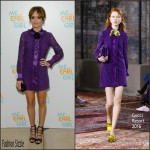 Olivia Cooke In Gucci At 'Me and Earl and the Dying Girl' London Premiere