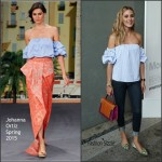 Olivia Palermo In Johanna Ortiz  At StyleWatch x Revolve Fall Fashion Party