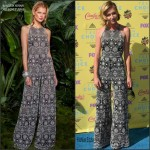Portia de Rossi in Naeem Khan at the 2015 Teen Choice Awards