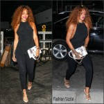 Rihanna in Ann Demeulemeester – Out In New York