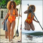 Rihanna in Gypsea Swimwear – Barbados
