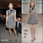 Rowan Blanchard  in Giamba – Teen Vogue x Simon 'Back-To-School Saturdays' Dinner