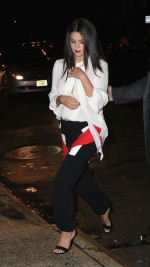 Selena Gomez in Givenchy at Beauty  Essex – New York City