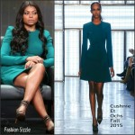 Taraji P. Henson in Cushnie et Ochs – 2015 Summer TCA Tour 'Empire' Panel