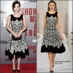 Winona Ryder  in Oscar De La Renta  – 'Show Me a Hero' New York Screening