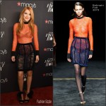 Bella Thorne in Balmain at Macy's Presents Fashion Front Row