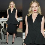 Kate Bosworth in Christian Dior at Dior Homme's Kris Van Assche Cocktail Event