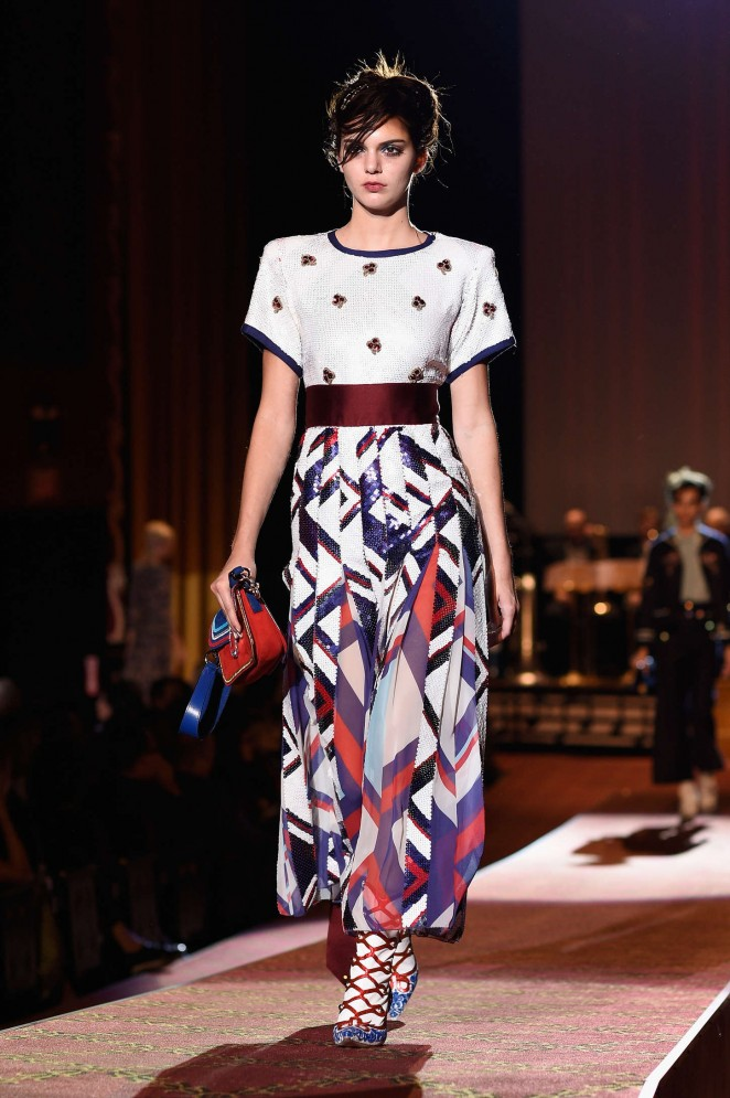 Kendall Jenner – Marc Jacobs Fashion Show Spring 2016 NYFW ...