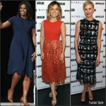 Michelle Obama , Sophia Bush, Charlize Theron – 'The Power of an Educated' Girl' Panel