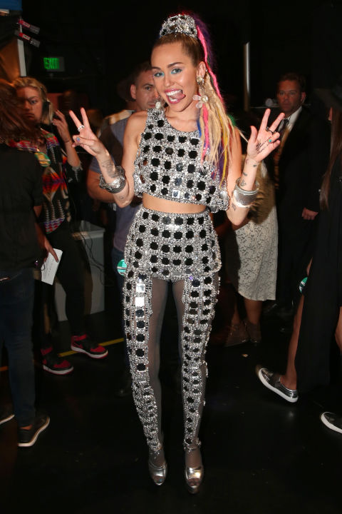 Miley Cyrus Outfits 2015 MTV Video Music Awards