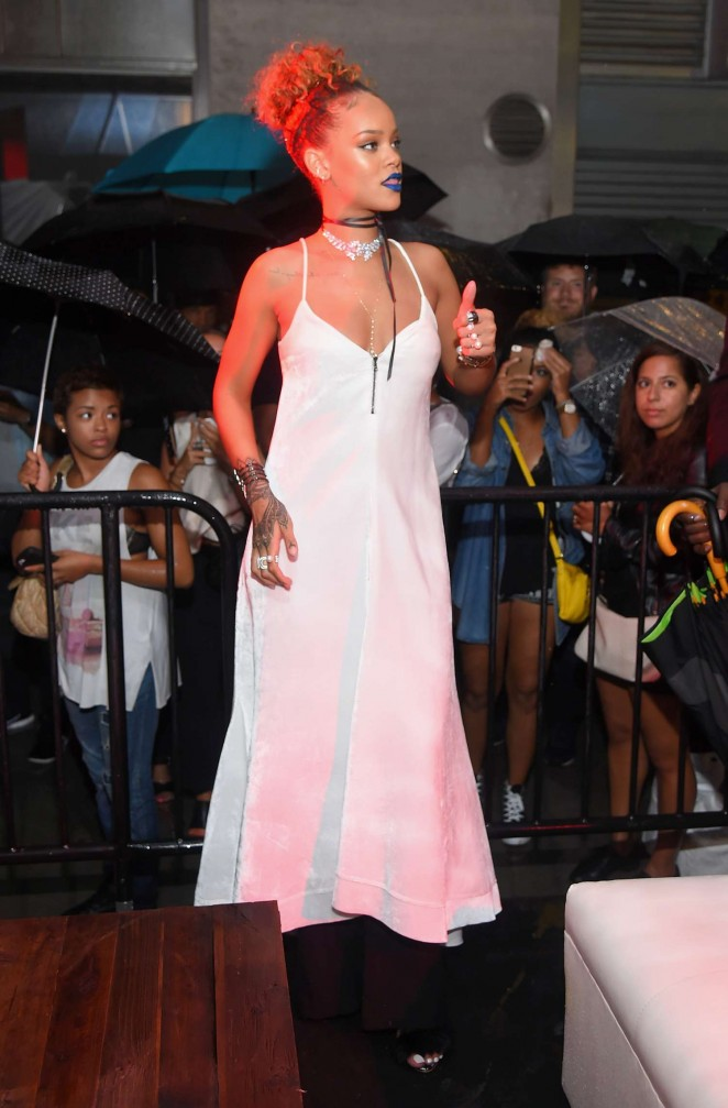 Rihanna- in - Sophia -Webster-at-Her-Party-at-The-New-York-Edition--
