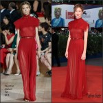 Alba Rohrwacher In Valentino Couture At  'Blood Of My Blood' Venice Film Festival Premiere