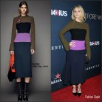 Alice Eve In Marni  At  'Before We Go' LA Premiere