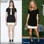Amanda Seyfried In RED Valentino  At 15th Annual USTA Opening Night Gala