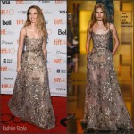 Amber Heard In Elie Saab Couture  At  'The Danish Girl' Toronto Film Festival