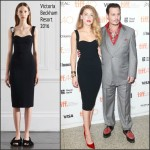 Amber Heard In Victoria Beckham  At 'Black Mass' Toronto Film Festival Premiere