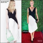 Amber Valletta in Roland Mouret at the Nordstrom Vancouver Store Opening Gala