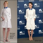 Bérénice Bejo In Monique Lhuillier  – 'The Childhood Of A Leader' Photocall – Venice Film Festival Premiere