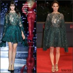 Bérénice Bejo In Zuhair Murad Couture At  El Clan' Venice Film Festival Premiere