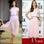 Charlotte Le Bon In Carolina Herrera  At 'The Walk' New York Film Festival Opening Night Gala Presentation