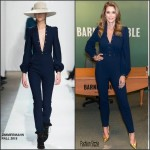 Cindy Crawford in Zimmermann at her 'Becoming Cindy Crawford' Book Signing