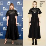 Dakota Johnson  in  Valentino  At  'Black Mass' Photocall – Venice Film Festival
