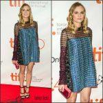 Diane Kruger In Prada At  'Disorder' Toronto Film Festival Premiere