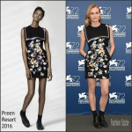 Diane Kruger In Preen  At Venice Film Festival Jury Photocall