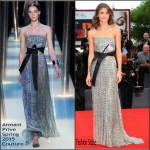 Elisa Sednaoui In Armani Privé  At 'Everest' Venice Film Festival Premiere & Opening Ceremony