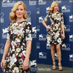 Elizabeth Banks In Dolce & Gabbana  AT  Venice Film Festival Jury Photocall