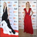 Elle Fanning In Emilio Pucci & Gucci At 'Trumbo' & 'About Ray' Toronto Film Festival Premiere
