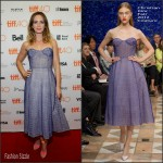 Emily Blunt In Christian Dior Couture  At  'Sicario' Toronto Film Festival Premiere