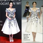 Fan Bingbing In Ralph & Russo Couture  At GQ Men of the Year Awards