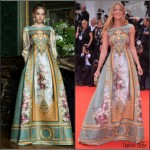 Fiammetta Cicogna  in Alberta Ferretti – Everest' Venice Film Festival Premiere & Opening Ceremony