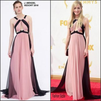 joanne-froggatt-in-j-mendel-2015-emmy-awards