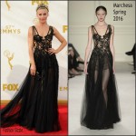 Julianne Hough In Marchesa At the  2015 Emmy Awards