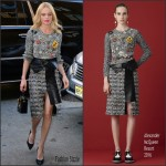 Kate Bosworth In Alexander McQueen  At  Live! With Kelly and Michael