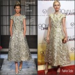 Kate Bosworth In Schiaparelli Couture At  '90 Minutes In Heaven' New York Premiere