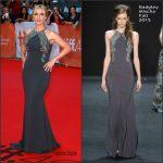 Kate Winslet In Badgley Mischka  At  'The Dressmaker' Toronto International Film Festival Premiere
