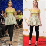 Kiernan Shipka In Christian Dior Couture  At the 2015 Emmy Awards