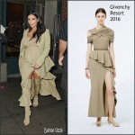 Kim Kardashian  in Givenchy at Rihanna Party in New York