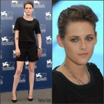 Kristen Stewart in Chanel – 'Equals' Venice Film Festival Photocall