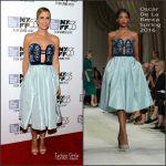 Kristen Wiig In Oscar de la Renta  At 'The Martian' New York Film Festival Premiere