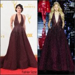 Lena Headey In Zuhair Murad Couture At the 2015 Emmy Awards