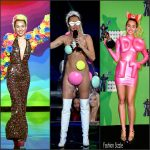 Miley Cyrus  outfits – 2015 MTV Video Music Awards
