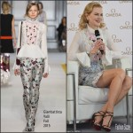 Nicole Kidman In Giambattista Valli  At OMEGA 'Her Time' Q&A