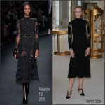 Nicole Kidman In Valentino OMEGA 'Her Time' Exhibition Opening