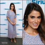 Nikki Reed In L.K. Bennett  At SiriusXM Studios