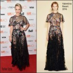 Rachel McAdams In Valentino  At  'Spotlight' Toronto Film Festival Premiere